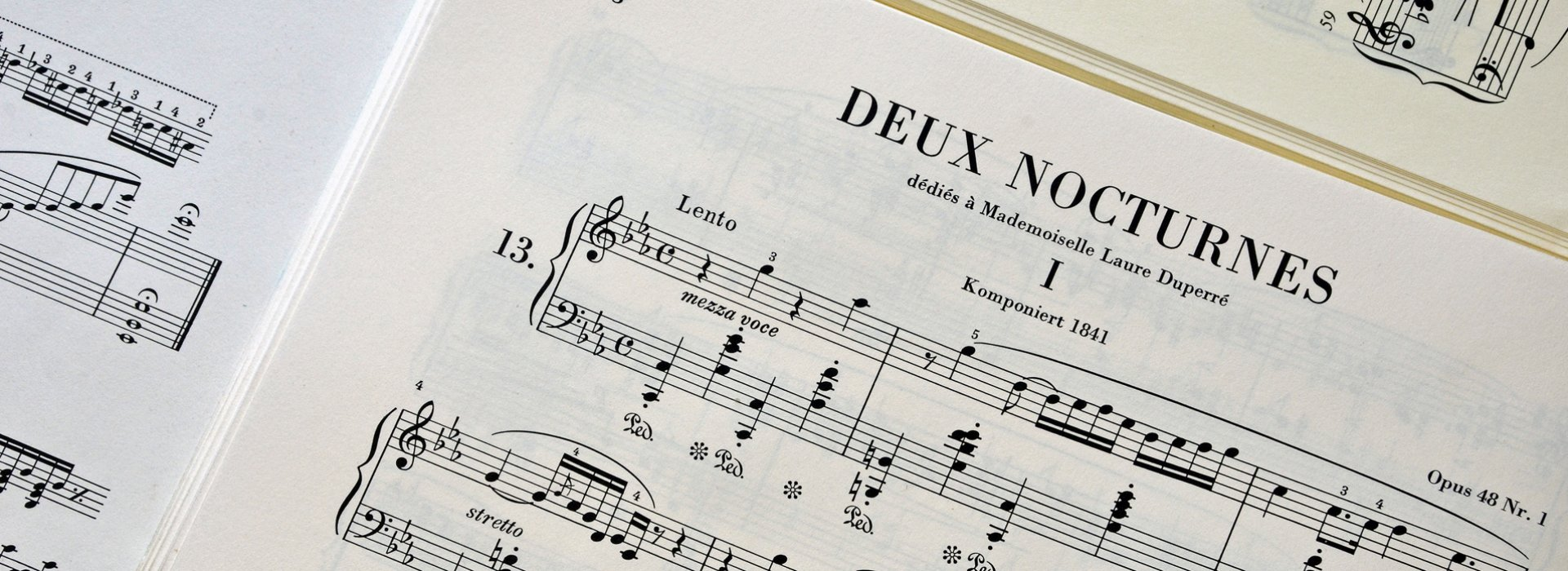 Fragment of the notes of Nocturne