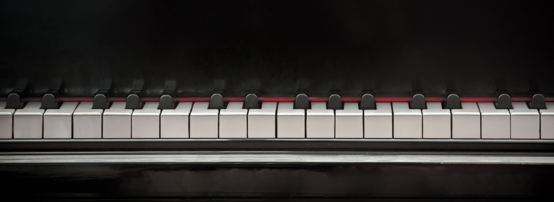 Piano keyboard on which Chopin composed music