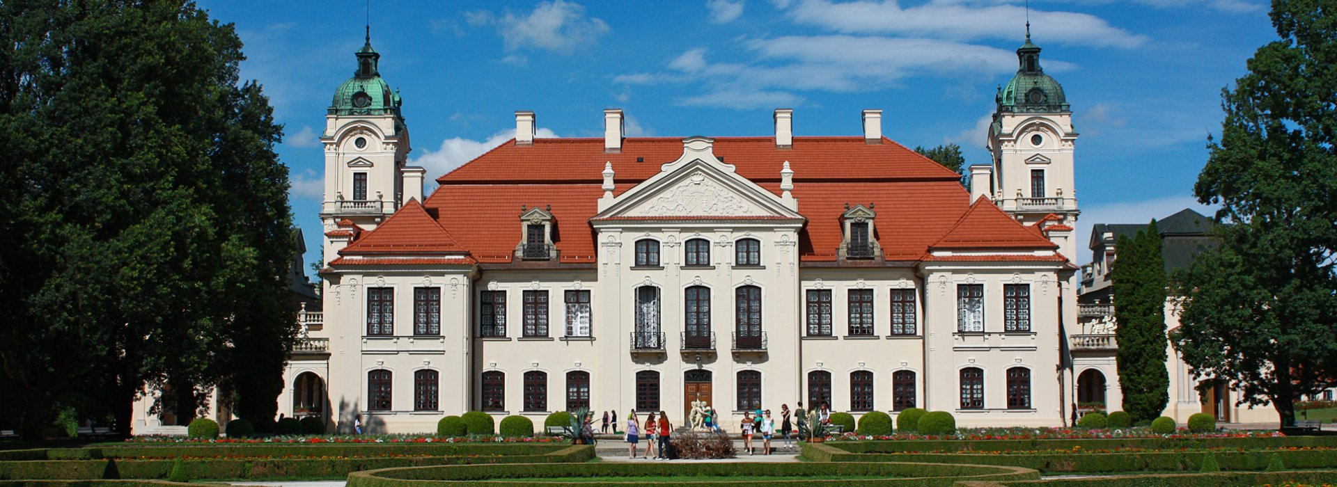 Polish aristocratic residence Kozłówka