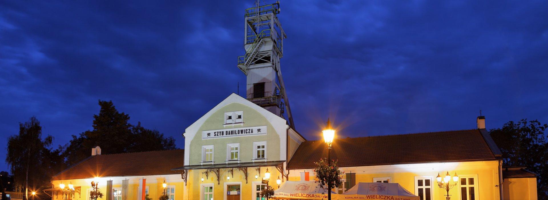 Main entrance to museum of Salt Mine Wieliczka
