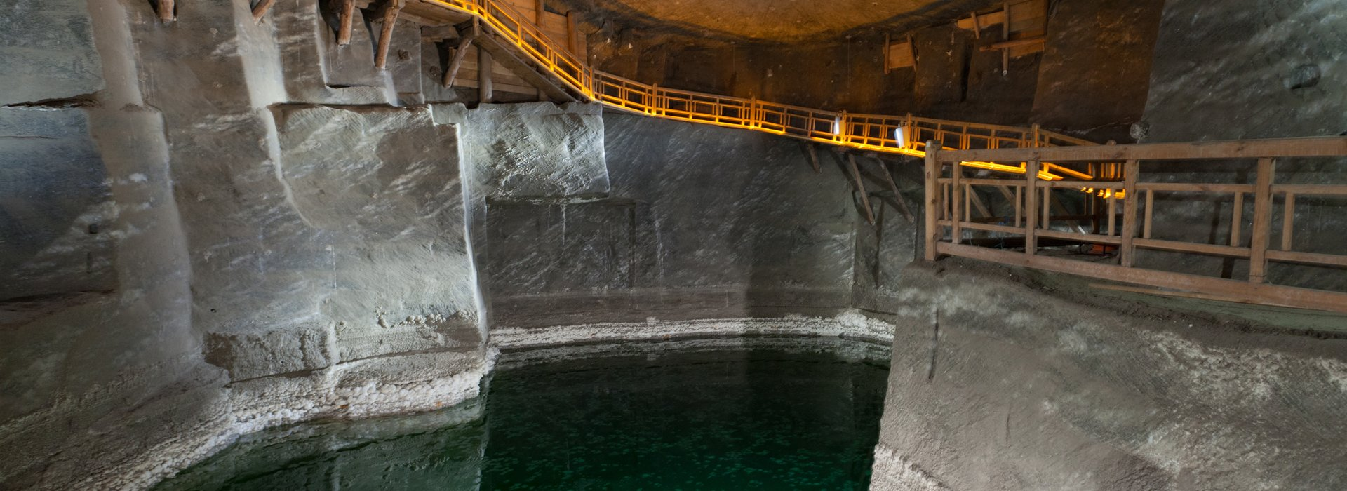 Salt in Salt Mine Wieliczka