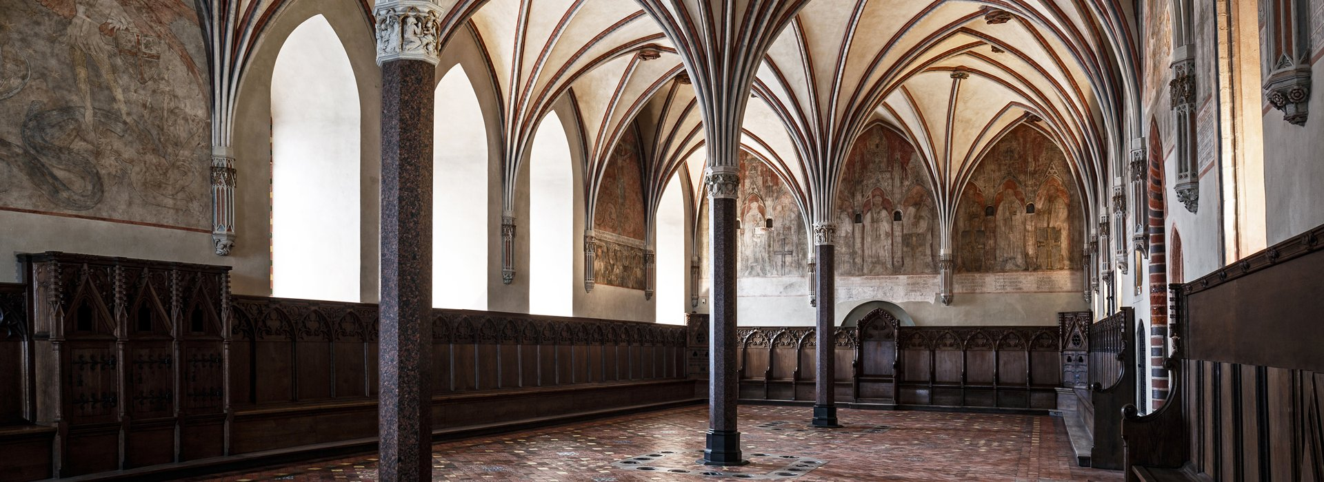 Ghotic interiors of Malbork castle