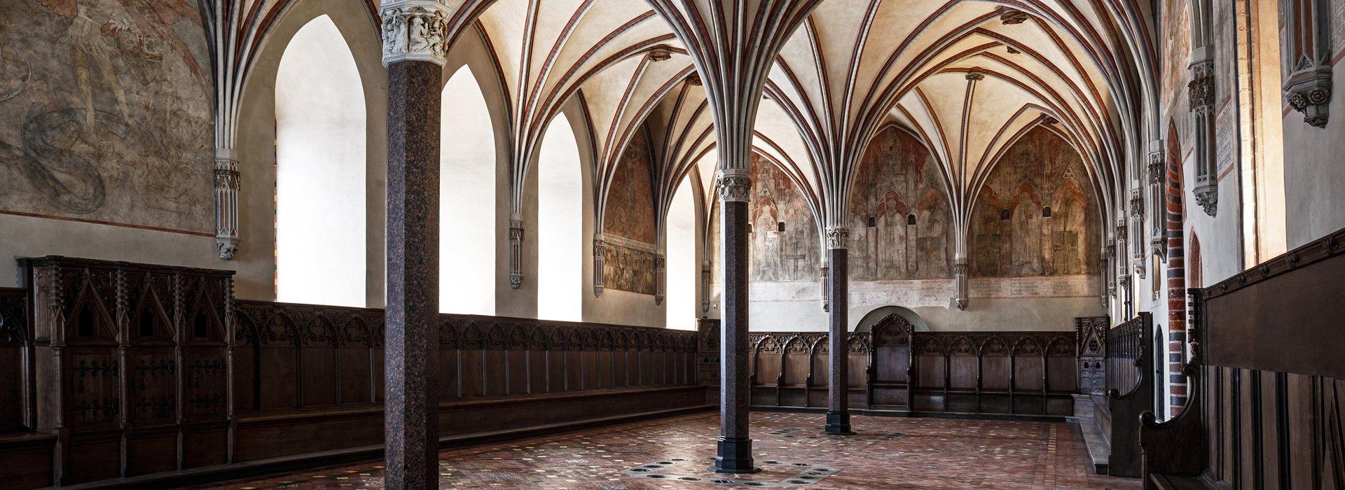 Ghotic interiors of Malbork castle
