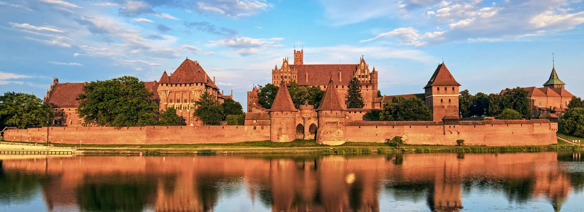 Defence wall of Malbork
