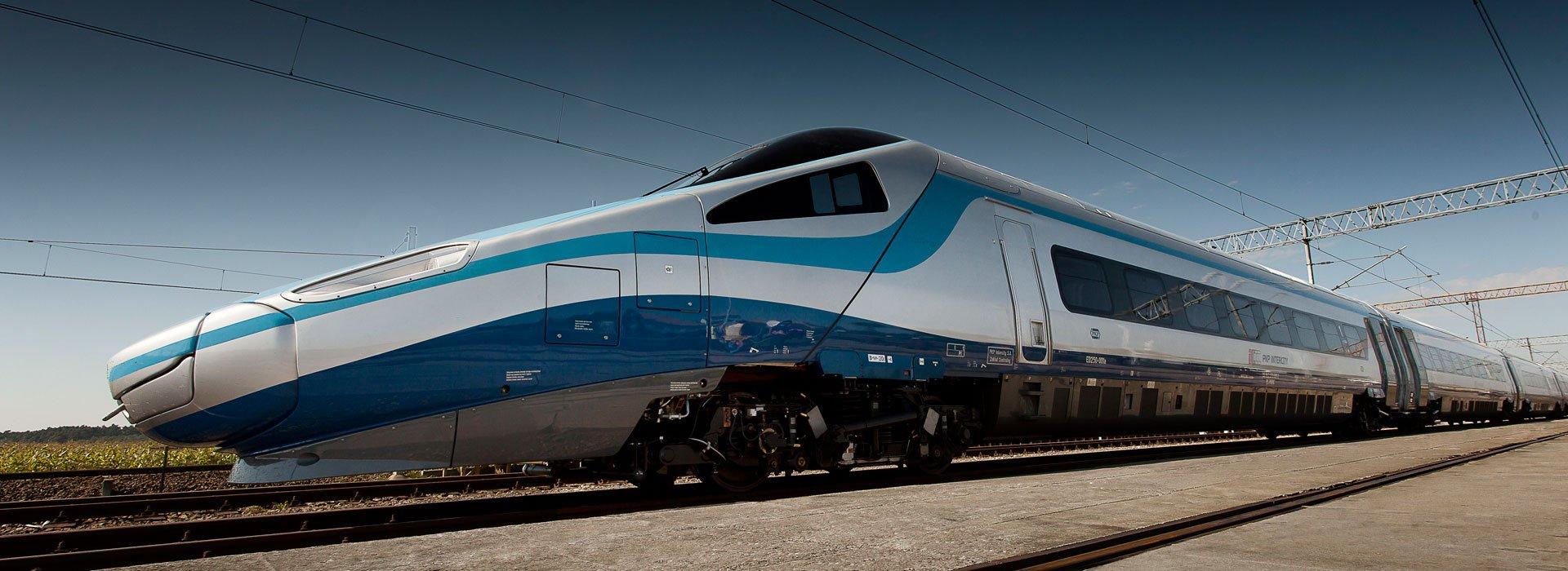 Fast train Pendolino