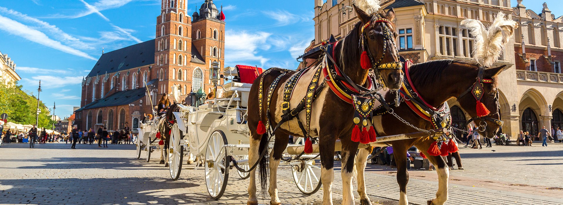 Beautiful and color full city of Cracow