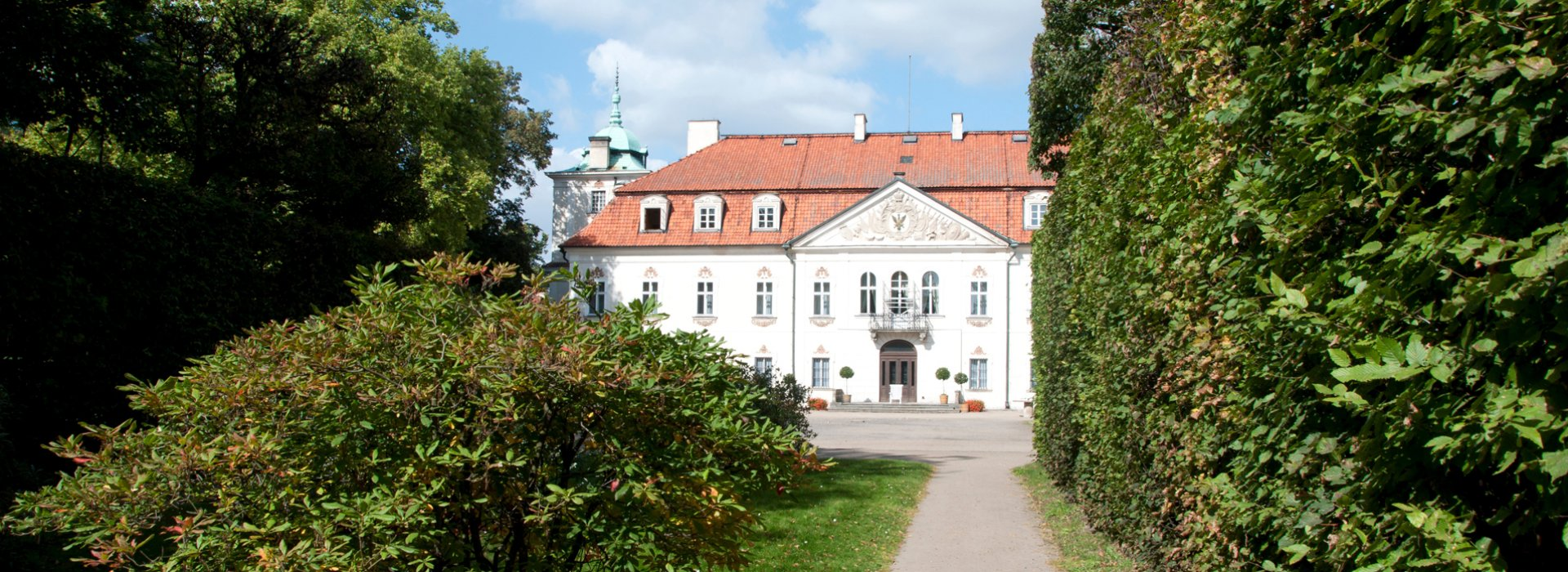 Polish aristocratic residence Nieborów located near Warsaw